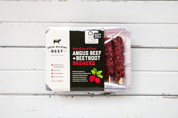400g Angus Beef & Beetroot Skewers (GF)
