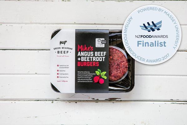 400g Angus Beef & Beetroot Patties (GF)
